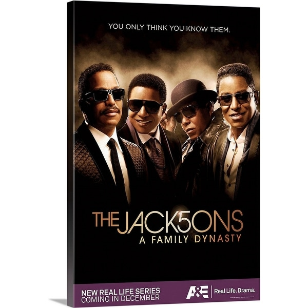 """""""The Jack5ons - TV Poster"""" Canvas Wall Art"""