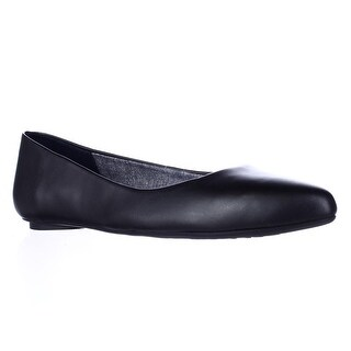 Dr. Scholl's Really Cool Fit Memory Foam Ballet Flats, Black