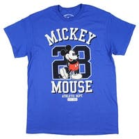 Disney Mickey Mouse Athletic Dept. #28 Graphic Men's T-shirt