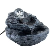Rock Design Desk Fountain