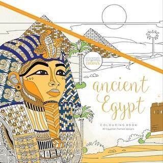"KaiserColour Perfect Bound Coloring Book 9.75""X9.75""-Ancient Egypt"