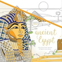 "KaiserColour Perfect Bound Coloring Book 9.75""X9.75""-Ancient Egypt"
