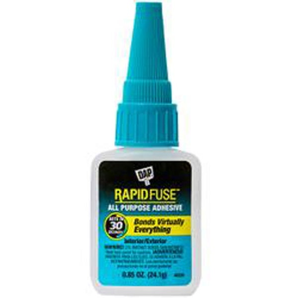 .85Oz Clear - Dap Rapid Fuse All Purpose Glue