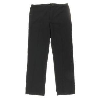 T Tahari Womens Stretch Faux Pockets Dress Pants