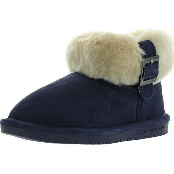 Bearpaw Abby Girls Kids Fashion Winter Boots
