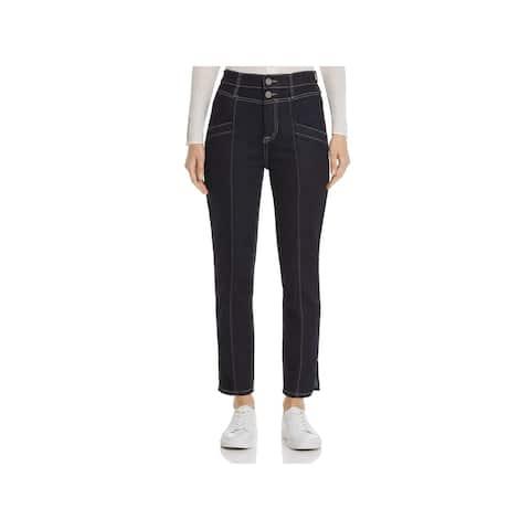 JOIE Womens Navy Straight leg Jeans Size 24 Waist