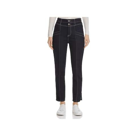 JOIE Womens Navy Straight leg Jeans Size 26 Waist