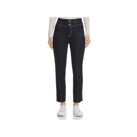 JOIE Womens Navy Straight leg Jeans Size 29 Waist