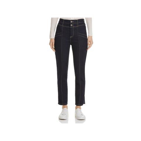 JOIE Womens Navy Straight leg Jeans Size 31 Waist