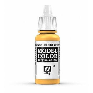 Vallejo Acrylic Paint, Golden Yellow