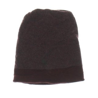 Theory Womens Hody BL Cashmere Reversible Beanie Hat - o/s