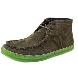 Hush Puppies Aquaice Wallaboot Men Round Toe Suede Chukka Boot