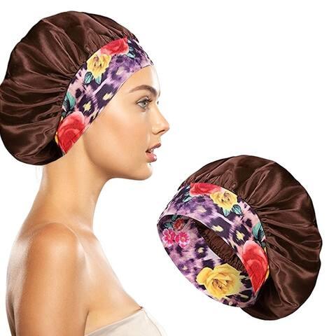 Women's Silky Satin Head Scarf Hair Wrap Cap Hat Headband Sleeping Bonnet