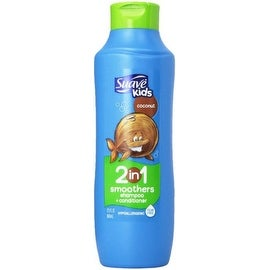 Suave Kids Smoothers 2 In 1 Shampoo & Conditioner, Cowabunga Coconut 22.5 oz