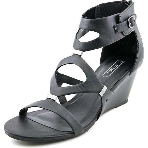 XOXO Sees Women Open Toe Synthetic Wedge Sandal