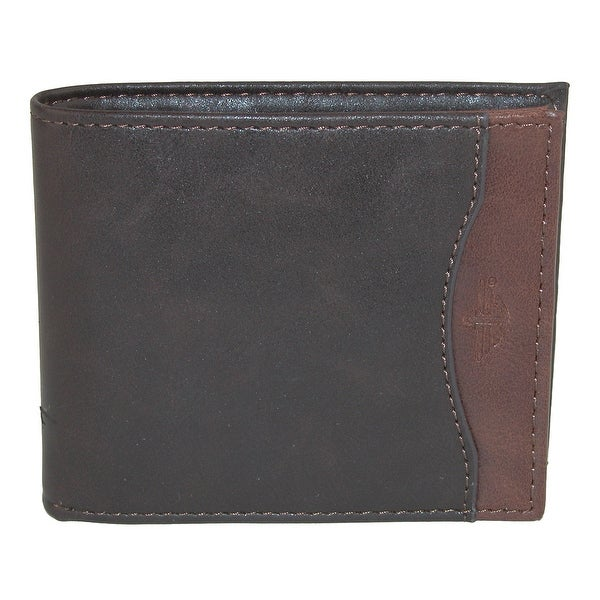 Dockers Men's Leather RFID Extra Capacity Slim Bifold Wallet - One size