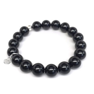"Black Onyx Eternal 7"" Bracelet"