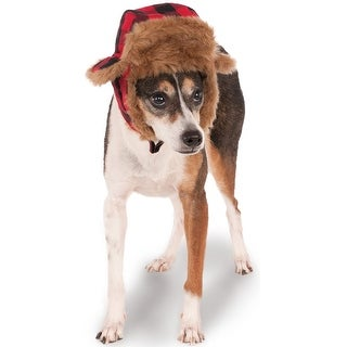 Rubies Trapper Hat Pet Accessory