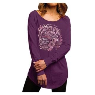 Harley-Davidson Women's Deception Palace Long Sleeve Raglan Shirt 5V36-HD0E|https://ak1.ostkcdn.com/images/products/is/images/direct/4a4a7d08db0c83079b33a05256fe51f152ca3c18/Harley-Davidson-Women%27s-Deception-Palace-Long-Sleeve-Raglan-Shirt-5V36-HD0E.jpg?impolicy=medium