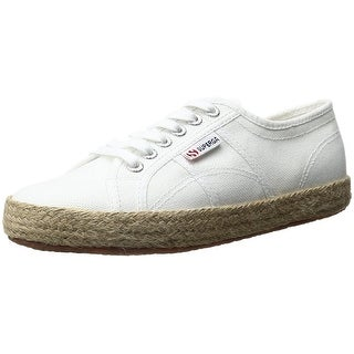 SUPERGA Womens Cotropew Canvas Low Top Lace Up Fashion Sneakers