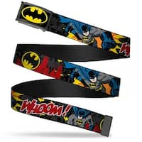 Batman Fcg Black Yellow Chrome Batman In Action Whoom! Red Skyline Web Belt