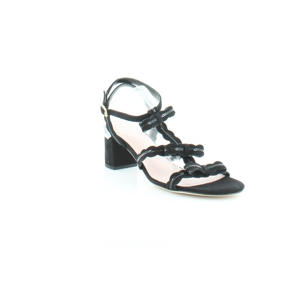 Kate Spade Medea Women's Sandals & Flip Flops Black Patent - 7