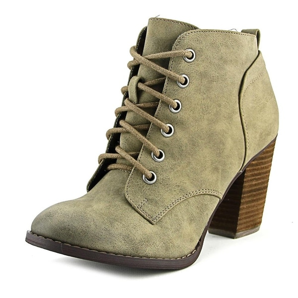 Not Rated Stevo Women Round Toe Synthetic Bootie