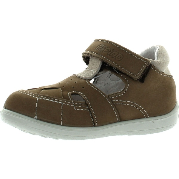 Ricosta Boys European Casual Sandal Shoes - sand nubuck