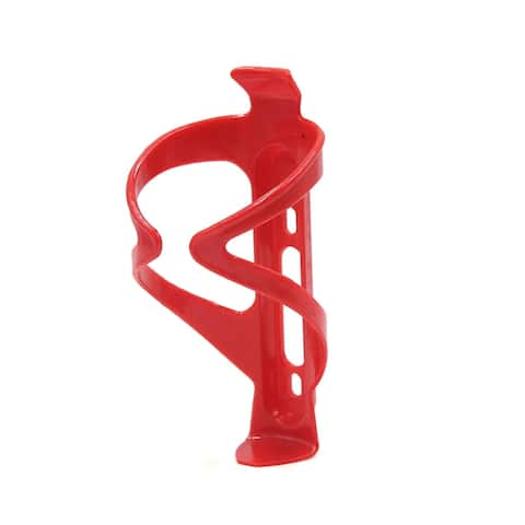 Red Cycling Bike Bicycle MTB Road Drink Water Bottle Cup Holder Mount Cage