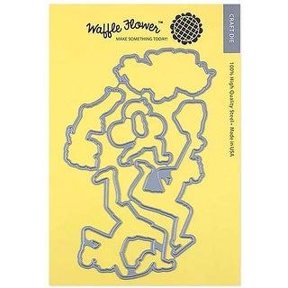 Sandy Toes - Waffle Flower Die