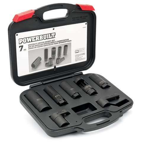 Powerbuilt 7 Piece Specialty Switch Socket Set - 648992