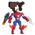 Marvel Super Hero Mashers Iron Patriot Figure 6 Inches - Thumbnail 0