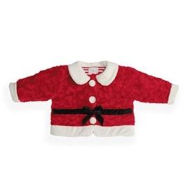 Fuzzy Wear Santa Suit Jacket Red, 12 -18 months