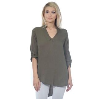 6cb283a2e70 Shop Women's Woven Cotton Gauze Tunic Top Made in USA (Small to 3X ...