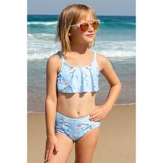Link to Sun Emporium Bahama Llama Print Two Piece High Waist Pant Set Little Girls Similar Items in Girls' Clothing