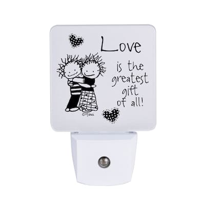 Love Is The Greatest Gift Nighlight - Marci Art - 1