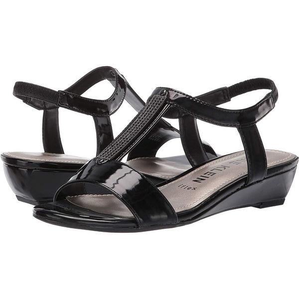 Shop Anne Klein Womens Melessa Open Toe