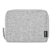 Pacsafe RFIDsafe LX150-Tweed Grey RFID Blocking Zippered Passport Wallet