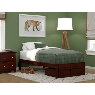Link to Colorado Bed with Foot Drawer and USB Turbo Charger Similar Items in Bedroom Furniture