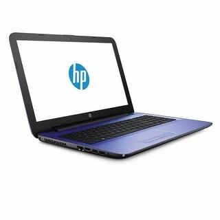 """Refurbished - HP 15t 15.6"""" Laptop Intel i3-4005U 1.7GHz 4GB memory 750GB storage Win10 Purple"""