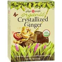 Ginger People - Organic Crystallized Ginger ( 12 - 4 OZ)