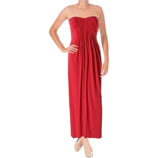 Laundry by Shelli Segal Womens Ruched Prom Formal Dress
