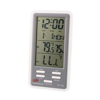 Indoor Outdoor Temperature Humidity Digital Meter Thermometer w Hygrometer