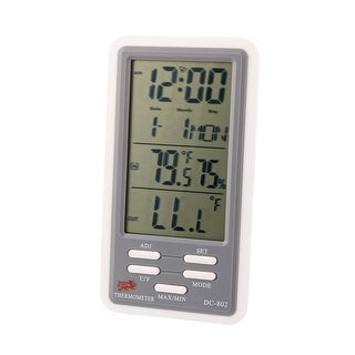 Indoor Outdoor Temperature Humidity Digital Meter Thermometer w Hygrometer
