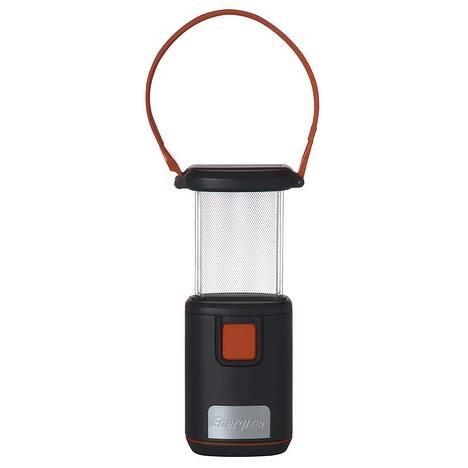 Energizer LED Light Fusion Pop Up Lantern, Grey-Orange, 6.5x3 Inches