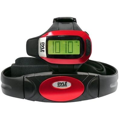 Speed & Distance Heart Rate Watch w/ USB & 3D walking/Running Sensor