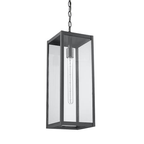 Clear Glass Outdoor Hanging Black Light