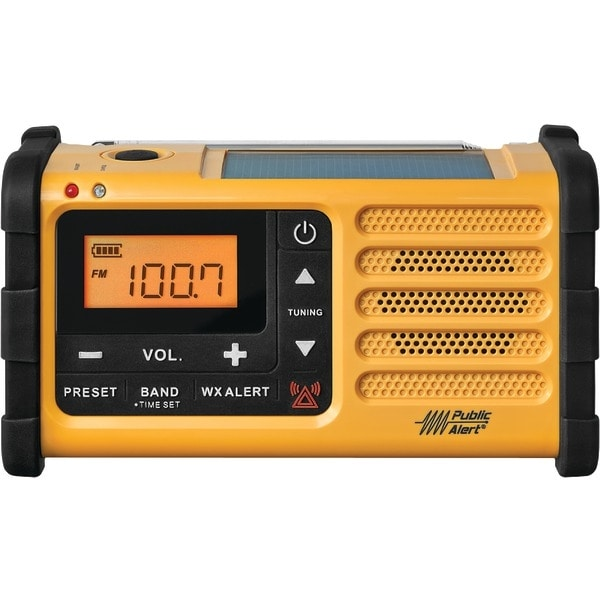 Sangean Mmr-88 Am/Fm Weather Crank Radio With Usb