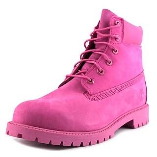 "Timberland 6"" Premium   Round Toe Leather  Work Boot"
