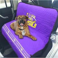 Pets First Collegiate Louisiana State Tigers Pet Car Seat Cover